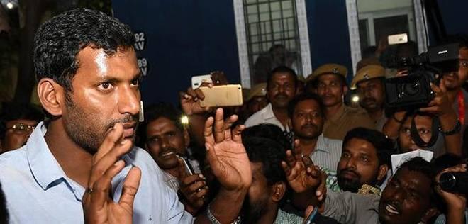 Actor Vishal Responds on Kerala Rains