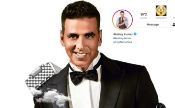 Akshay Kumar Hits 20 Million Instagram Followers