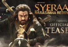 Sye Raa Narasimha Reddy Teaser Review