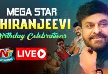 Megastar Chiranjeevi 63rd Birthday Celebrations LIVE