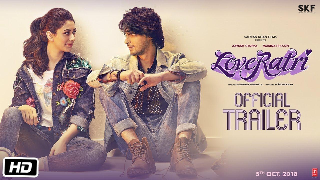 Loveratri Official Trailer