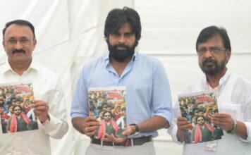 Pawan Kalyan Launched Shatagni Magazine