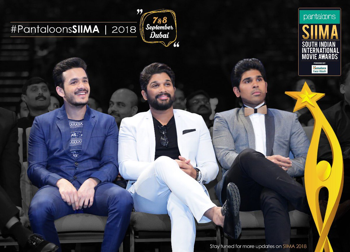 SIIMA Awards 2018 Telugu Nominations List