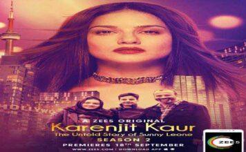 Sunny Leone Biopic Web Series Karenjit Kaur Season 2 Premiere on 18th September
