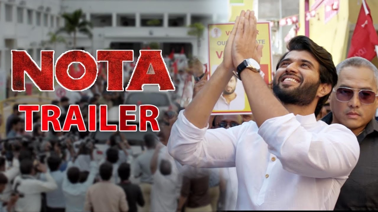 NOTA Official Trailer Review | NOTA Movie Trailer | Vijay Deverakonda