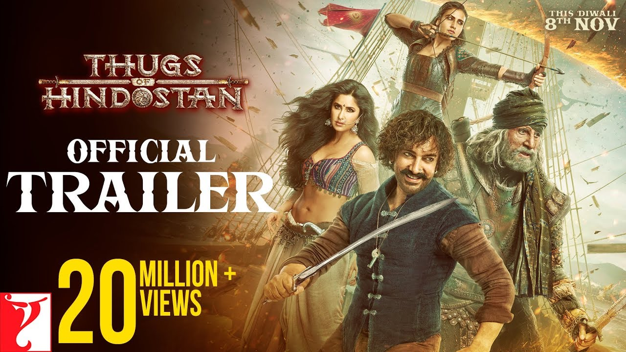 Thugs Of Hindostan Trailer Review | Thugs Of Hindostan Official Trailer