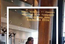 Samantha Akkineni Lifting 80 Kgs Deadlift