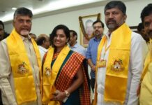 Actress Revathi Chowdary Joins TDP In Presence of Chandrababu