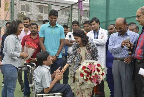 Samantha Akkineni Launched All India Wheelchair Tennis Tournament 2018