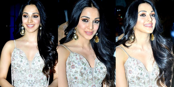 Kiara Advani Photos at Vinaya Vidheya Rama Movie Pre Release Event