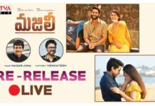 MAJILI Movie Pre-Release Event Live