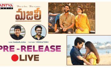 MAJILI Movie Pre-Release Event Live