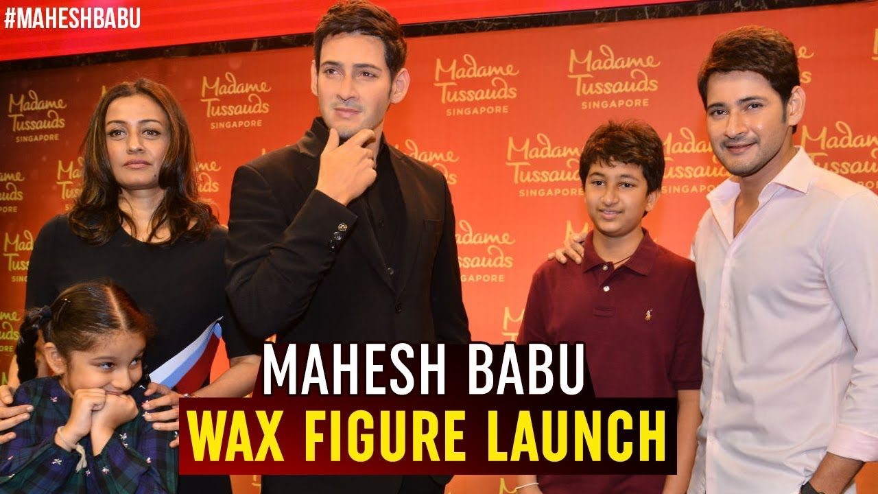Mahesh Babu Wax Figure Launch Event