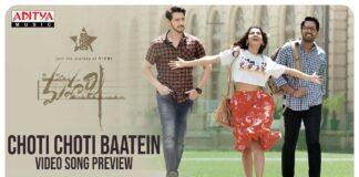 Choti Choti Baatein Video Song From Maharshi Movie