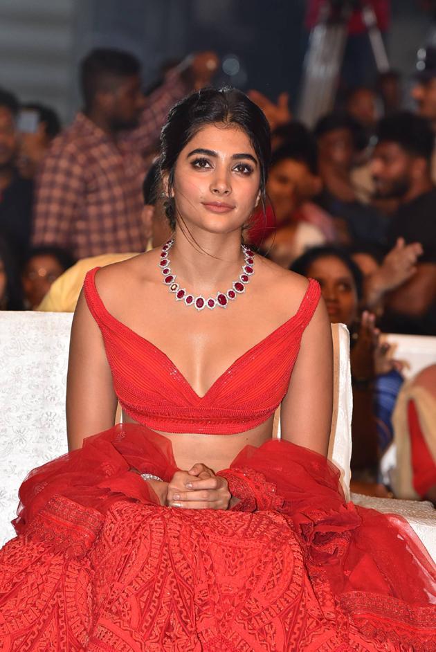 pooja hegde images at maharshi vijayotsavam southcolors 10