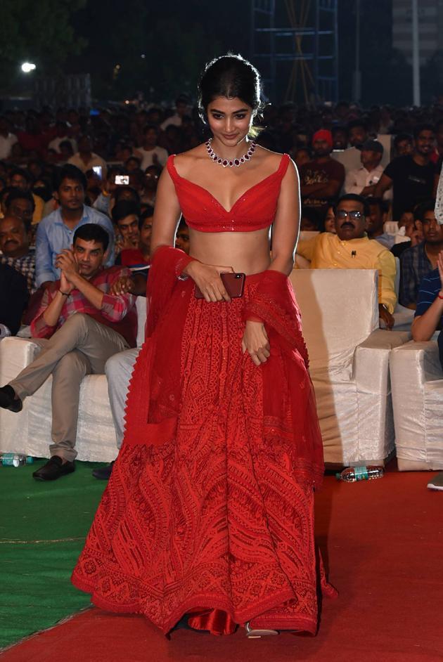 Pooja Hegde Images at Maharshi Vijayotsavam