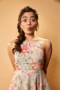 Rashmika Mandanna Cute Expressions Photoshoot Stills 12
