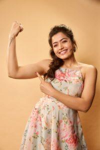 Rashmika Mandanna Cute Expressions Photoshoot Stills 14