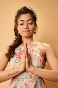 Rashmika Mandanna Cute Expressions Photoshoot Stills 15