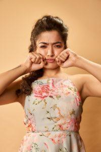 Rashmika Mandanna Cute Expressions Photoshoot Stills 16