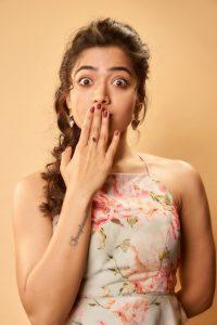 Rashmika Mandanna Cute Expressions Photoshoot Stills 19