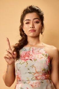 Rashmika Mandanna Cute Expressions Photoshoot Stills 21