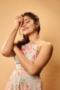 Rashmika Mandanna Cute Expressions Photoshoot Stills 22