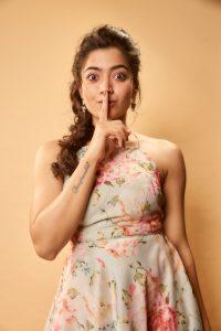 Rashmika Mandanna Cute Expressions Photoshoot Stills 4