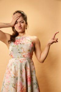 Rashmika Mandanna Cute Expressions Photoshoot Stills 5