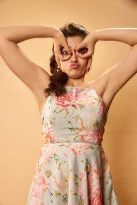 Rashmika Mandanna Cute Expressions Photoshoot Stills 6