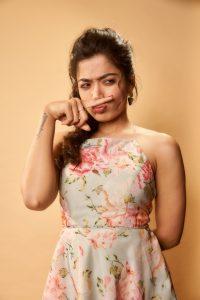 Rashmika Mandanna Cute Expressions Photoshoot Stills 7