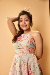 Rashmika Mandanna Cute Expressions Photoshoot Stills 8