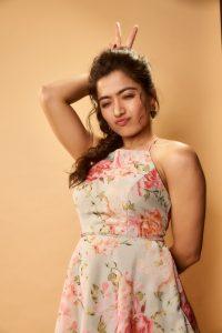 Rashmika Mandanna Cute Expressions Photoshoot Stills 9
