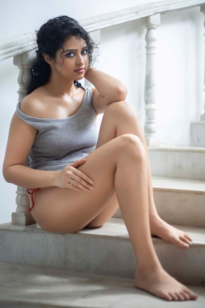 Actress Apsara Rani Hot Photoshoot Stills