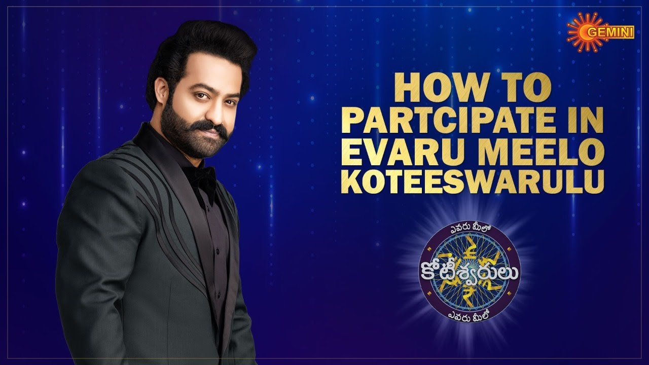 How to Participate in Evaru Meelo Koteeswarulu Game Show