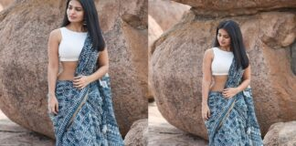 Actress Ananya Nagalla Hot Photos in White Saree