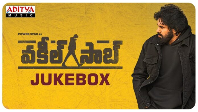 Vakeel Saab​ Audio Jukebox Songs