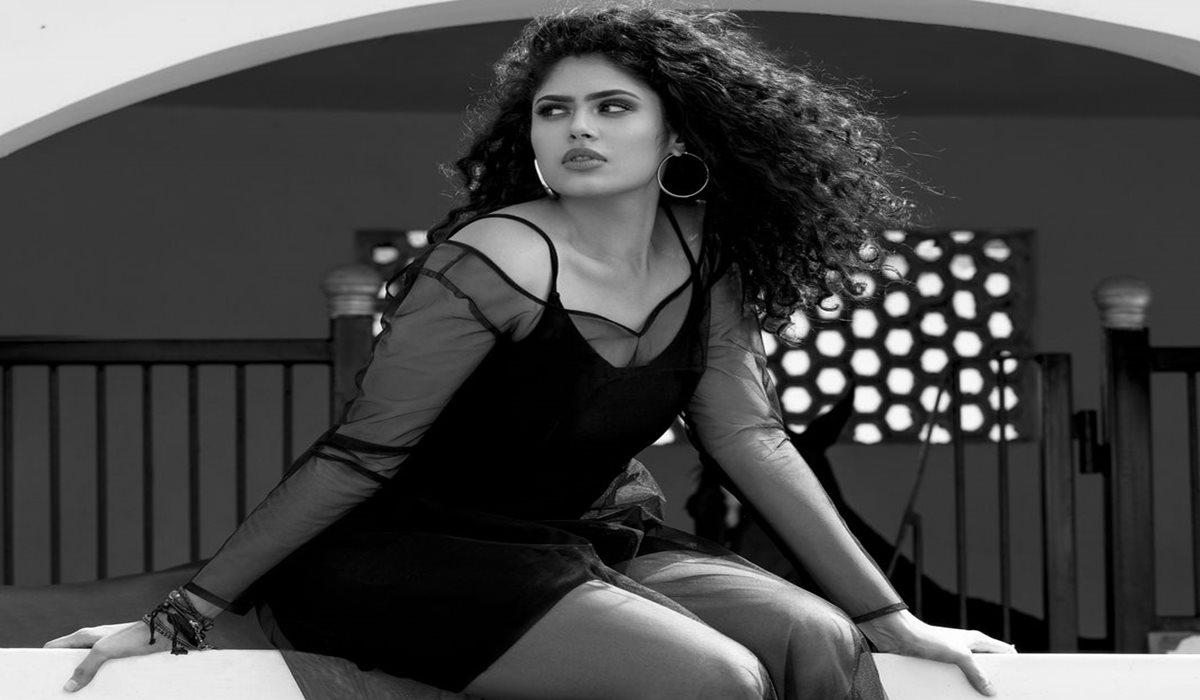 Faria Abdullah Black Outfit Photoshoot