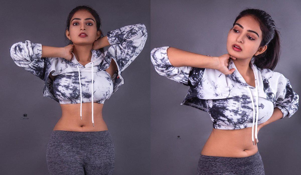 Ananya Nagalla Flaunting Her Hot Curves